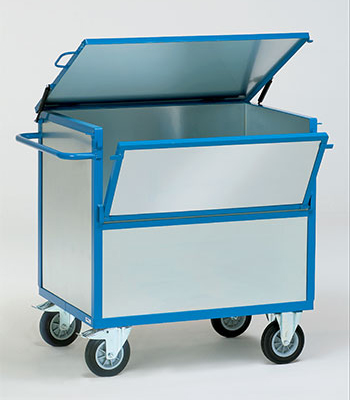 Fetra bakwagen met deksel, 2833