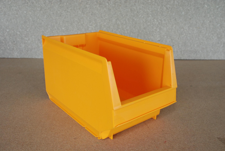 Arca-schoeller Perstorp stapelbak 9073 geel