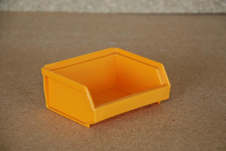 Arca-schoeller Perstorp stapelbak 9076 geel