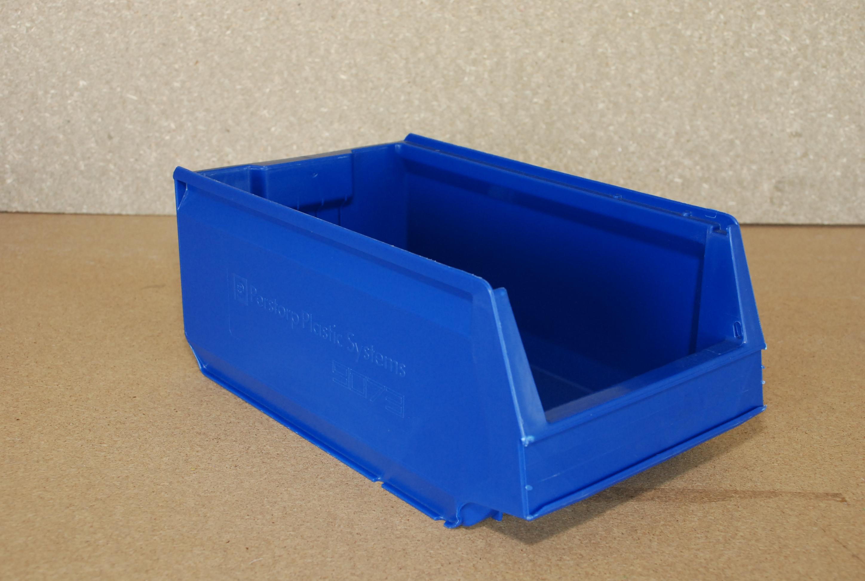 Arca-schoeller Perstorp stapelbak 9073 blauw