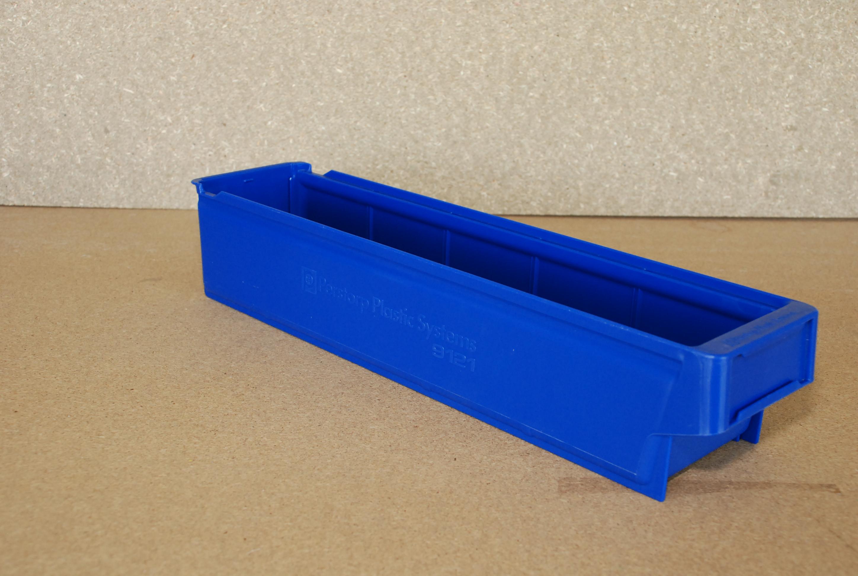 Arca-schoeller Perstorp stapelbak 9121 blauw