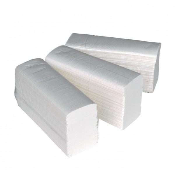 Handdoekje X-press 2-laags wit H2
